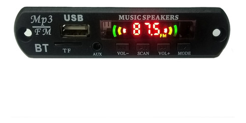Modulo Usb  Mp3 Con Bluetooth Y Control Remoto