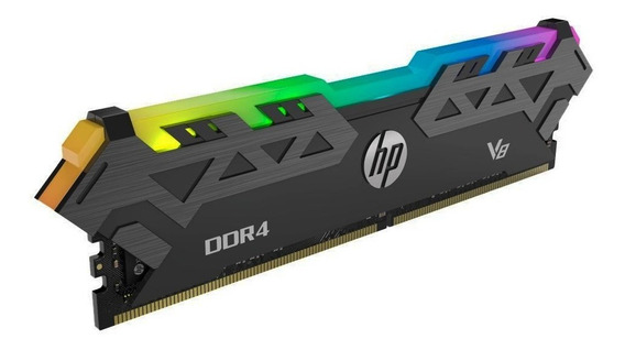 Memoria Hp V8 Series Rgb Ddr4 8gb 3200mhz Cl16 Gamer