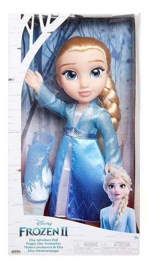 Boneca Frozen 2 Vestido De Luxo Elsa Com 35 Cm Da Mimo 6484