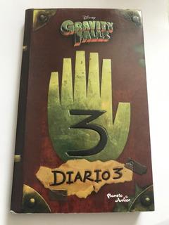 Diario 3 Gravity Falls Con Diario 1 Y 2 Sin Plumas