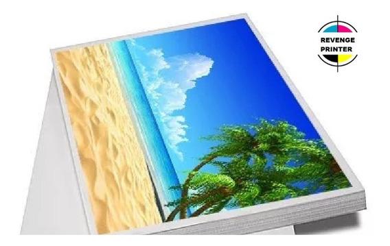 Papel Fotografico Glossy 230g A3 Brilho 500 Folhas Premium