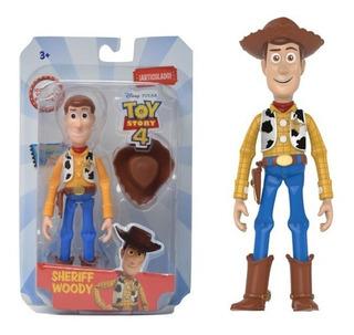 Toy Story 4 Woody Muñeco Articulado 13 Cm Original