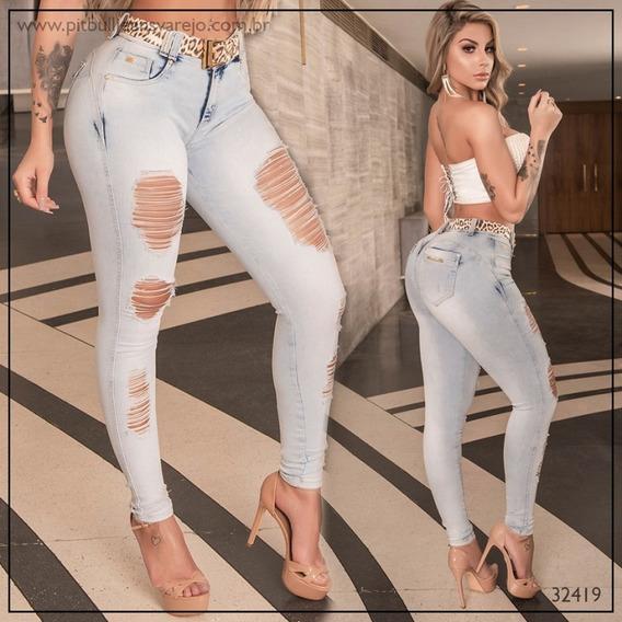 Calça Cigarrete Pit Bull Jeans Cod 32419