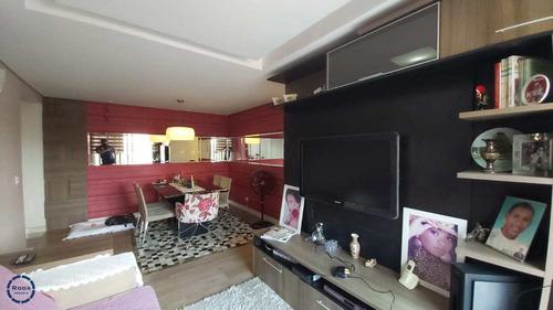 Apartamento Com 3 Dorms, Aparecida, Santos - R$ 640 Mil, Cod: 18009 - V18009