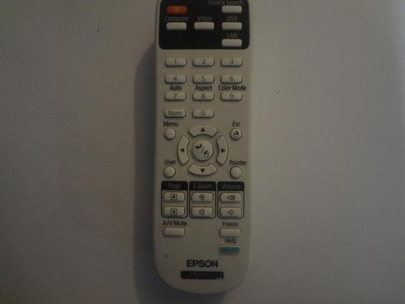Control Epson De Video Beam Sin Tapa 100% Funcional