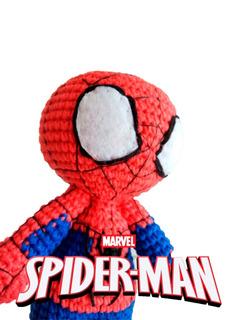 Spiderman Avengers Amigurumi Muñeco Peluche