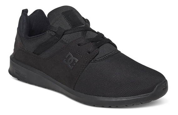 Zapatillas Dc Shoes Mod Heathrow Negro Negro Nueva Coleccion