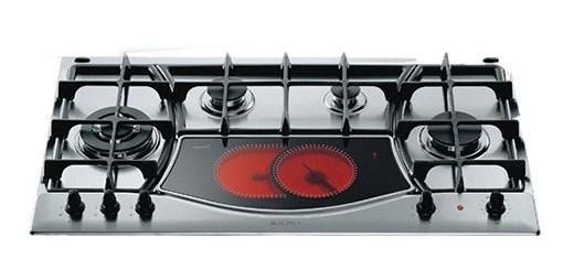 Anafe Ariston Ph941mstv Mix Electrico Gas Cuotas