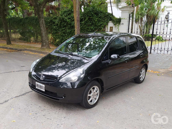 Honda Fit 1.5 Ex 2006 Mt Negro Full