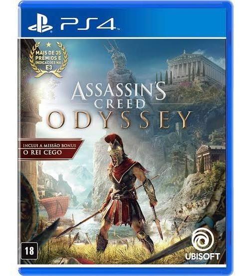Assassins Creed Odyssey - Ps4 Midia Física