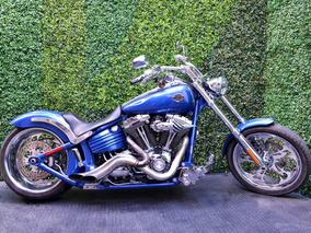 6 Vel. Softail Rocker Una Bestia Con Clase 1580cc Harley