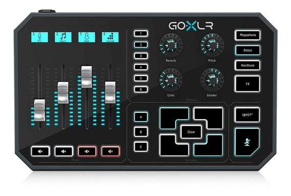 Mixer Gameplay Streaming Multi-efeitos Tc Helicon Go Xlr Nfe