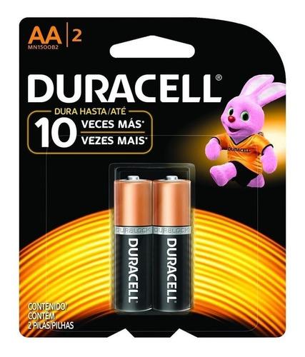 Pilas Baterías Duracell Aa Alkalinas Remate Pack De 6 Pilas