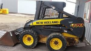 Minicargadores New Holland L170 Y Ls170