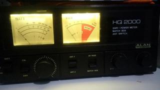 Acoplador Watimetro E Chave De Antenas Hq2000 Para 1kw