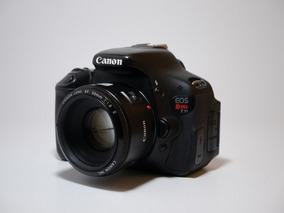 Canon Eos Rebel T3i + 50mm 1.8