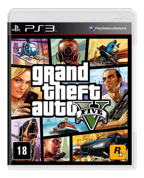 Grand Theft Auto V Ps3 Mídia Física Novo Lacrado