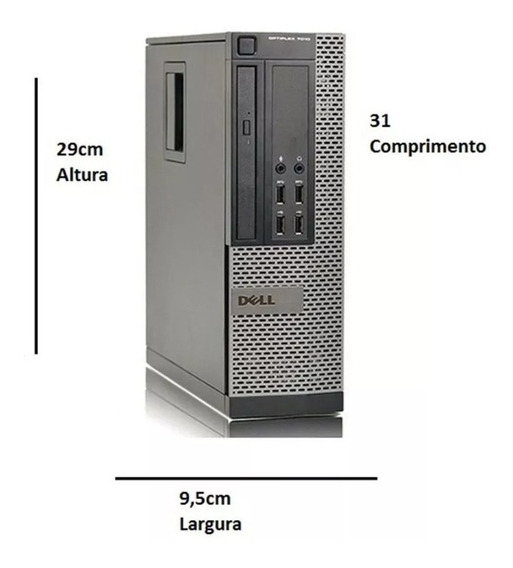 Desktopdell Optiplex 7020 Core I5 4gb Hd 500gb
