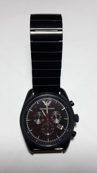 Relógio Armani Chronograph Xl Masculino Textil Ar6051