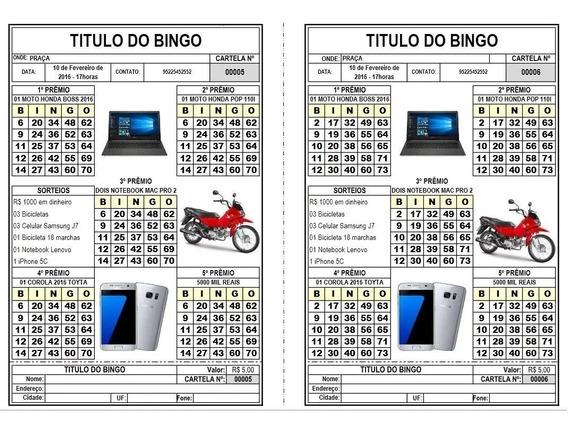 Gerador De Bingo Com 1 Ou 5 Quadros Leia A Descrição