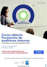 Curso Formación De Auditores Internos