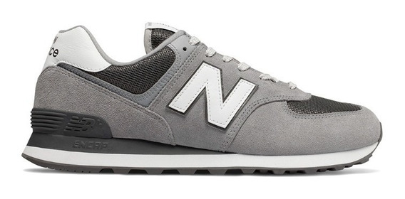 Tênis New Balance Ml574 Est Masculino - Cinza/branco