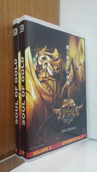Dvd Cavaleiros Do Zodíaco - Soul Of Gold Completo