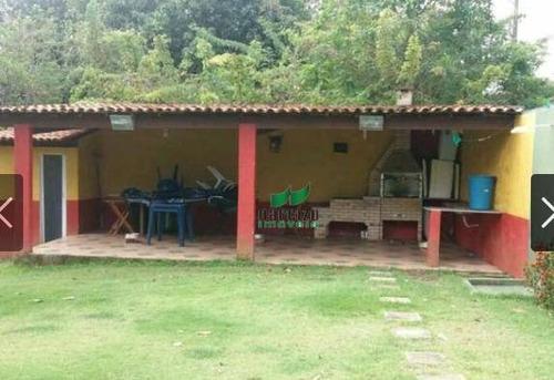 Chácara Com 3 Dormitórios À Venda, 5.000 M² Por R$ 450.000 - Ch0019