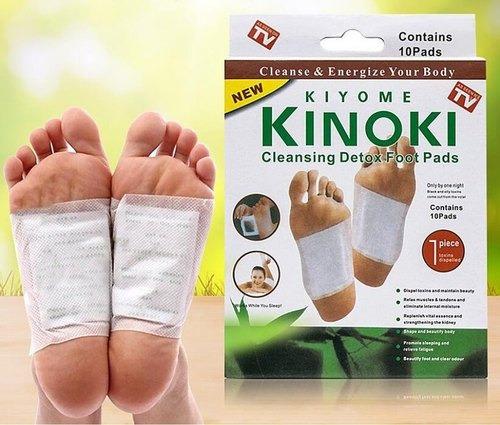 Parche Desintoxicante Para Pie Cuerpo Kinoki Bambu 10