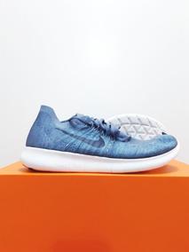 Tênis Nike Free Rn Flyknit 2017 Corrida 3 Azuis N. 39 40 44