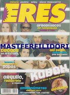 Kabah Revista Eres De Marzo 2002 Maria Jose Ov7