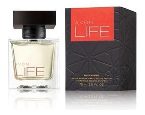 Perfume Life For Him Avon Deo Parfum 75ml Vencimento 10/19