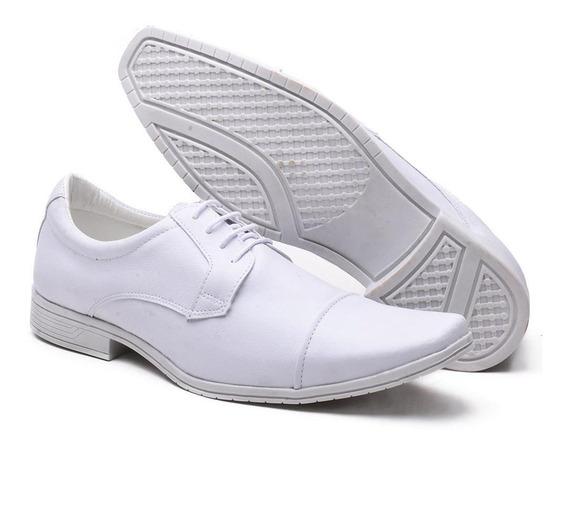 Sapato Social Masculino Versales Branco