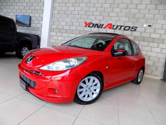 Peugeot 207 Xt Feline Rojo Aden 2012 !- U-n-i-c-o- Permuto -