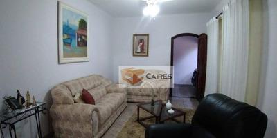 Casa Com 3 Dormitórios À Venda, 190 M² Por R$ 520.000 - Cidade Jardim - Campinas/sp - Ca2242