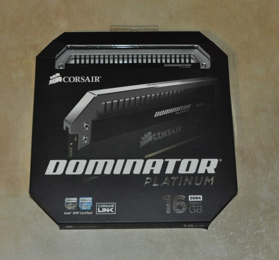 Corsair Dominator Platinum 16gb (2 X 8gb) Ddr4 Dram 3000mhz