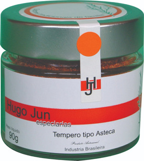 Tempero Asteca 90g Hugo Jun Especiarias