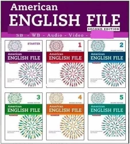 American English File Second Edition Completo C/ Teachers