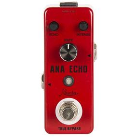Pedal De Guitarra Rowin Ana Echo Delay