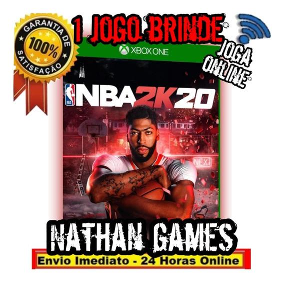 Nba 2k20 - Xbox One - Mídia Digital Nba2k20 2020 + 1 Brinde