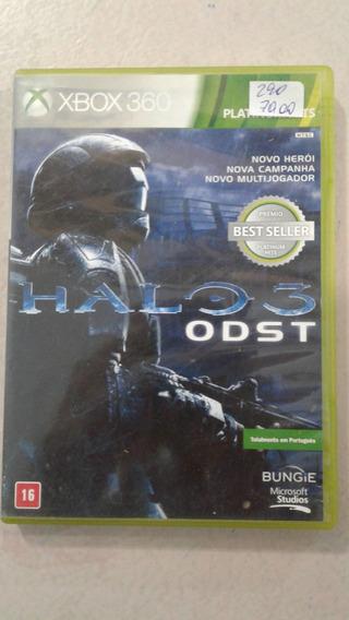 Halo 3 Odst Xbox 360 E Xbox One Mídia Física