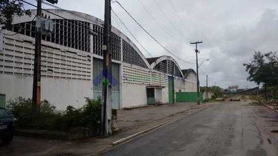 Área Total De 12.000 M² Com Área Construída/galpões De 9.000 M² Na Imbiribeira Em Recife/pe - 1184