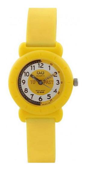 Relógio Infantil Amarelo Prova D