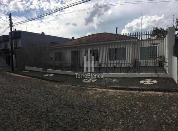 Casa Com 4 Dormitórios À Venda, 230 M² Por R$ 790.000,00 - Nova Rússia - Ponta Grossa/pr - Ca0231