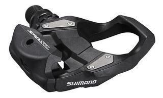 Pedales Bicicleta Ruta Shimano R500 Con Calas Incluidas