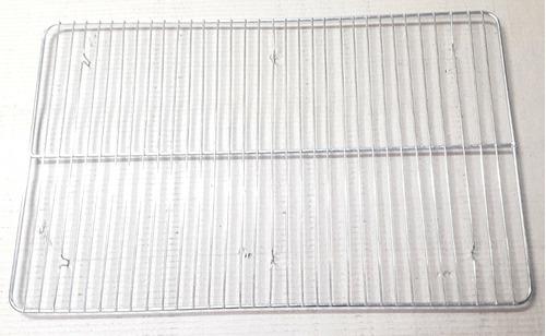 Imagen 1 de 2 de Rejilla De Alambre Cromada Para Asadera De 70 X 45