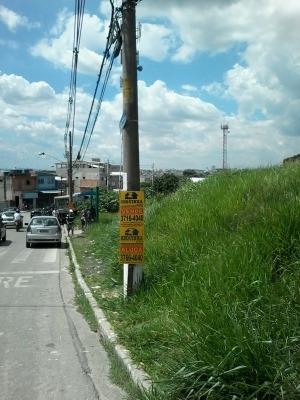 Ref.: 5586 - Terreno Em Carapicuíba Para Aluguel - L5586