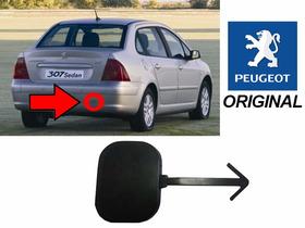 Tampa Reboque Parachoque Traseiro Peugeot 307 Sedan