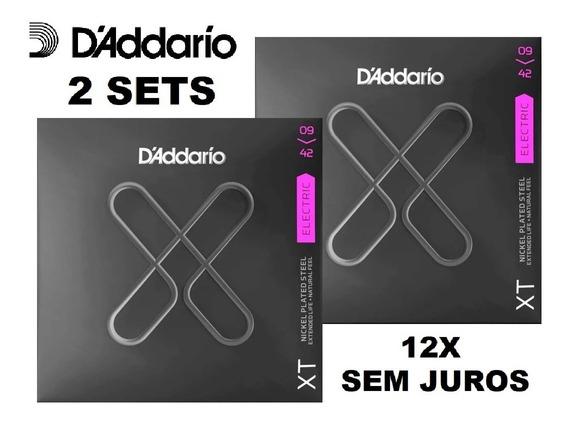 Kit 2 Encordoamento Daddario Guitarra Xt 009