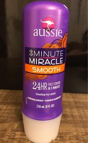 Mascara Tratamento Aussie 3 Minutes Miracle Smooth - 236 Ml